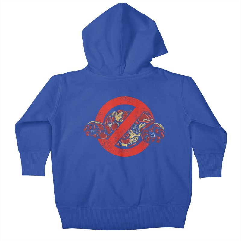 WHO YOU GONNA CALL ? Kids Baby Zip-Up Hoody by arace's Artist Shop