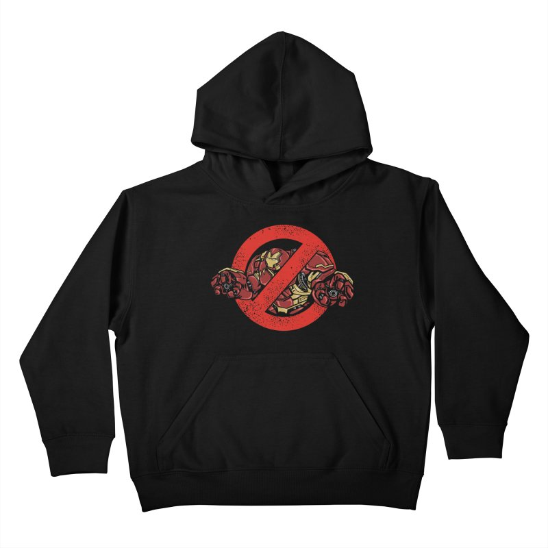 WHO YOU GONNA CALL ? Kids Pullover Hoody by arace's Artist Shop