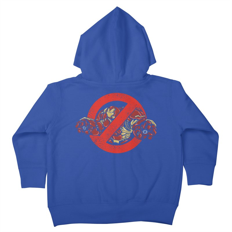 WHO YOU GONNA CALL ? Kids Toddler Zip-Up Hoody by arace's Artist Shop