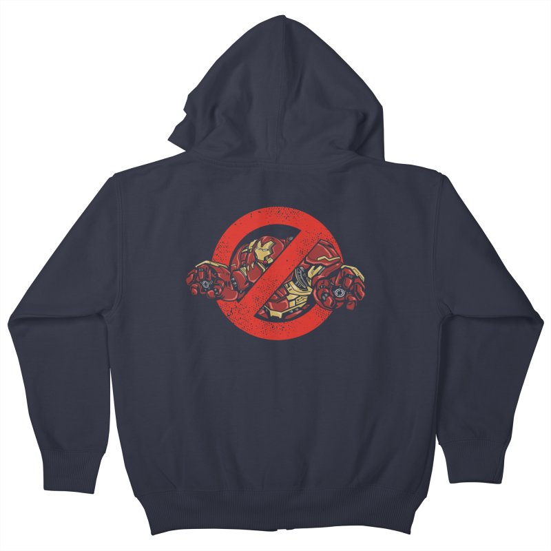 WHO YOU GONNA CALL ? Kids Zip-Up Hoody by arace's Artist Shop