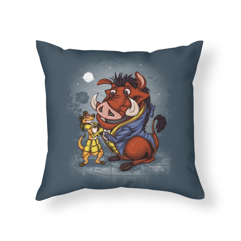 Change in the Script Home Throw Pillow by Arashi-Yuka