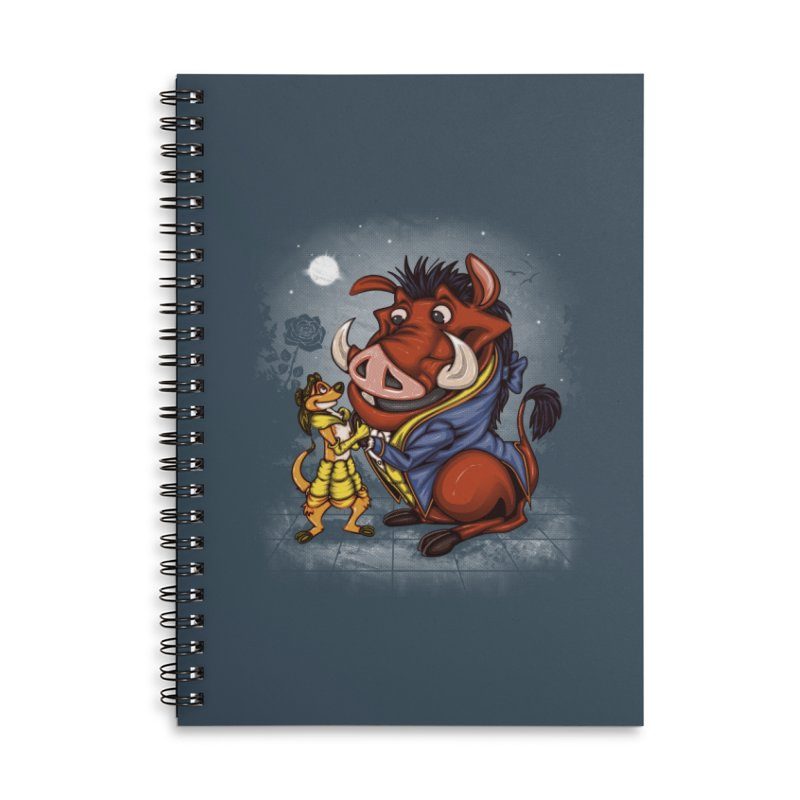 Change in the Script Accessories Lined Spiral Notebook by Arashi-Yuka