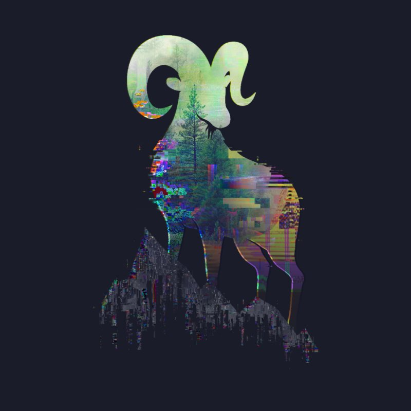 Wild Glitch None  by ARBER KOLONJA's Artist Shop