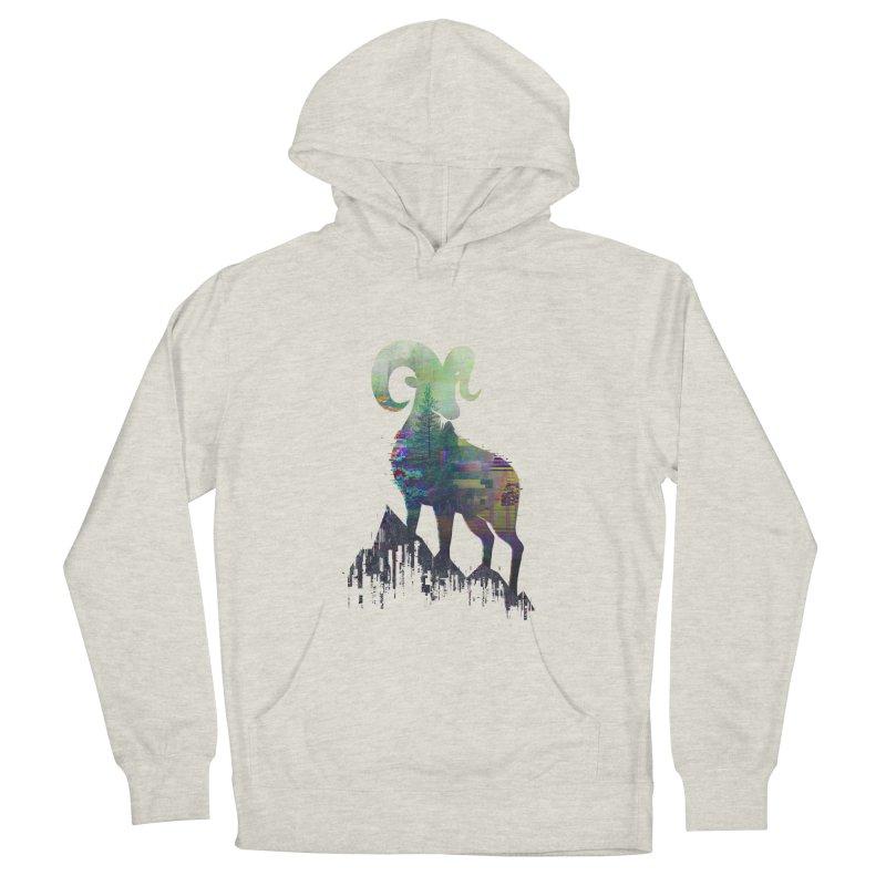 Wild Glitch Men's Pullover Hoody by ARBER KOLONJA's Artist Shop