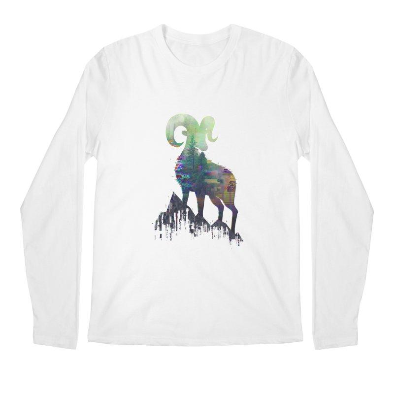 Wild Glitch Men's Longsleeve T-Shirt by ARBER KOLONJA's Artist Shop