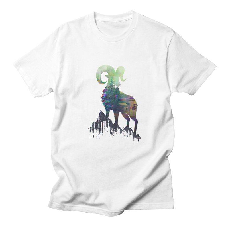 Wild Glitch Men's T-Shirt by ARBER KOLONJA's Artist Shop