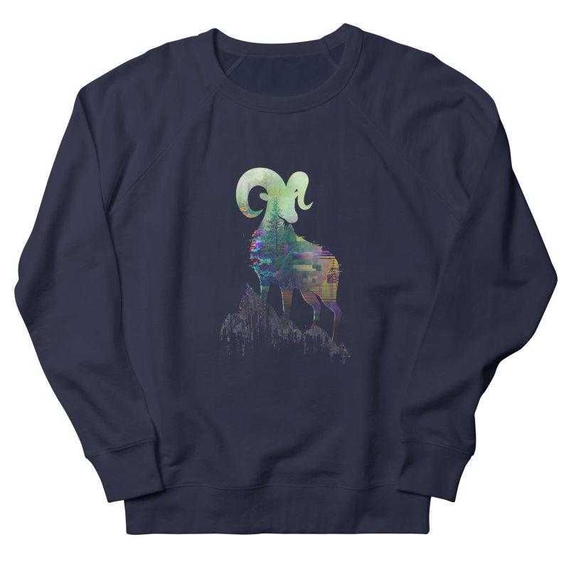 Wild Glitch Women's Sweatshirt by ARBER KOLONJA's Artist Shop