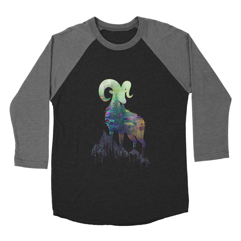 Wild Glitch Women's Baseball Triblend T-Shirt by ARBER KOLONJA's Artist Shop