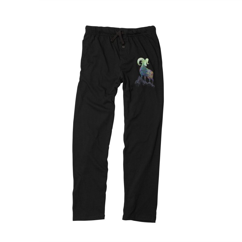 Wild Glitch Men's Lounge Pants by ARBER KOLONJA's Artist Shop