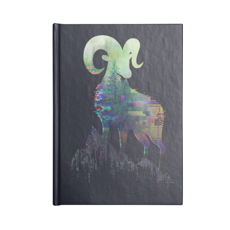 Wild Glitch Accessories Notebook by ARBER KOLONJA's Artist Shop