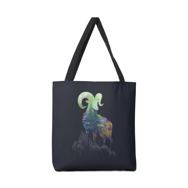 Wild Glitch Accessories Bag by ARBER KOLONJA's Artist Shop