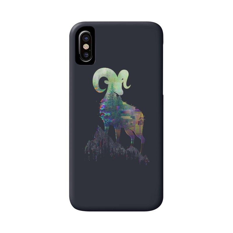 Wild Glitch Accessories Phone Case by ARBER KOLONJA's Artist Shop