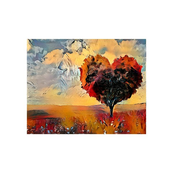 image for Autumn Heart Tree