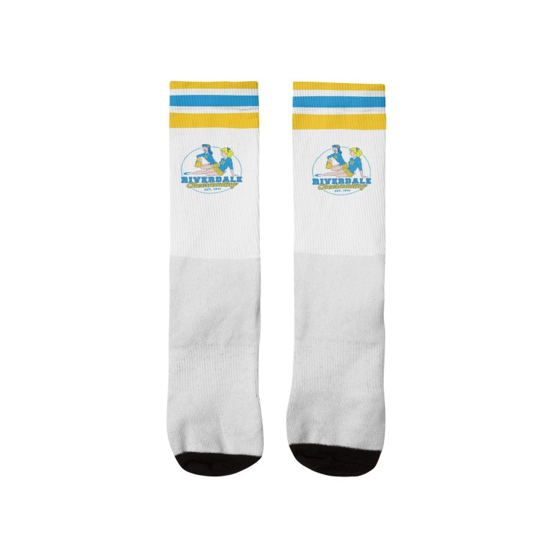 Riverdale Cheerleading Men's Socks by Archie Comics
