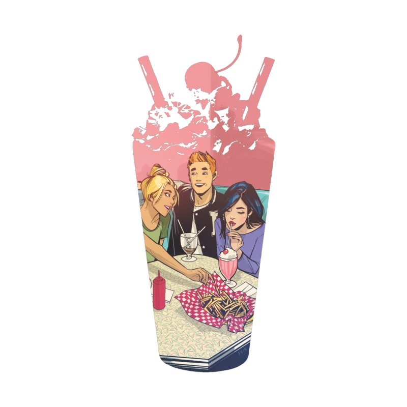 Milkshake Accessories Phone Case by archiecomics's Artist Shop