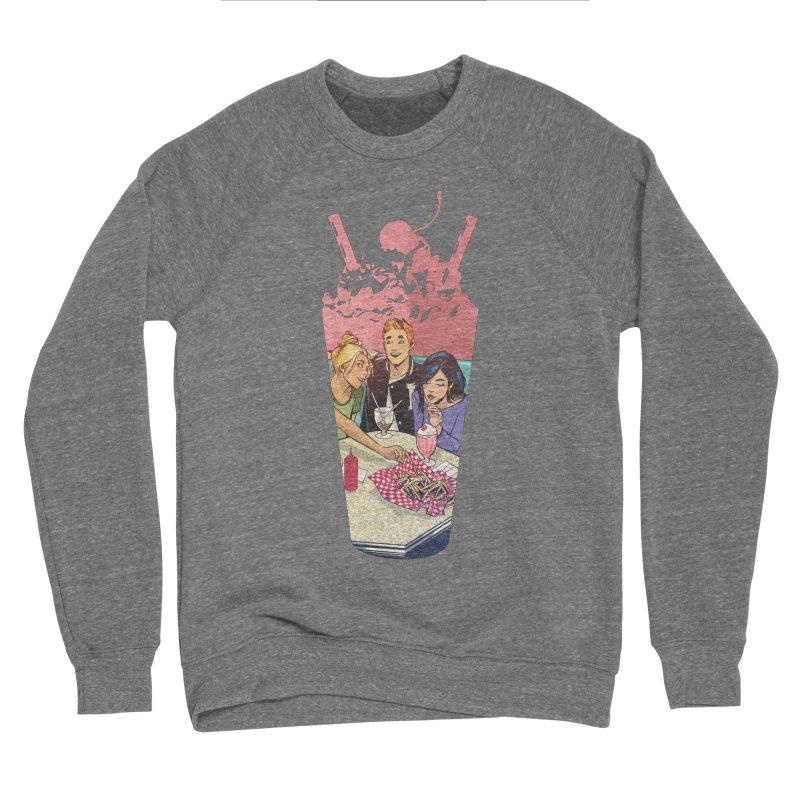 Milkshake in Men's Sponge Fleece Sweatshirt Grey Triblend by Archie Comics