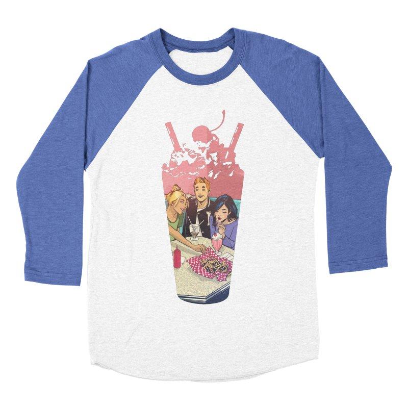 Milkshake Women's Baseball Triblend T-Shirt by archiecomics's Artist Shop