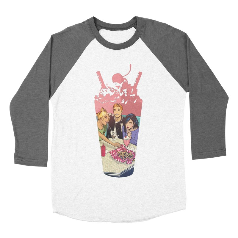 Milkshake Men's Baseball Triblend Longsleeve T-Shirt by archiecomics's Artist Shop