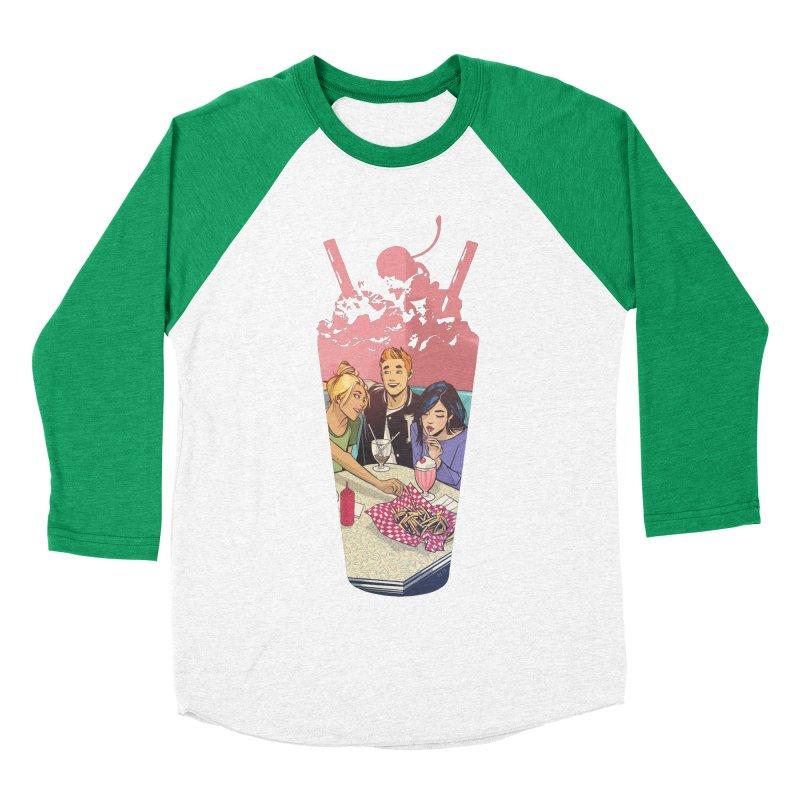 Milkshake Men's Baseball Triblend Longsleeve T-Shirt by Archie Comics