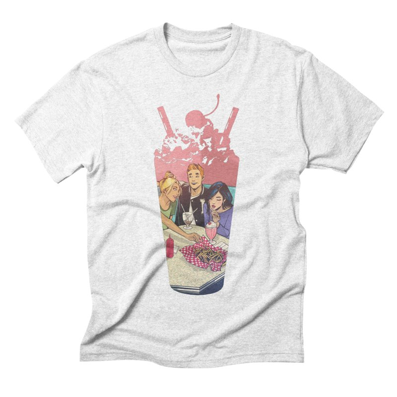 Milkshake Men's Triblend T-shirt by archiecomics's Artist Shop
