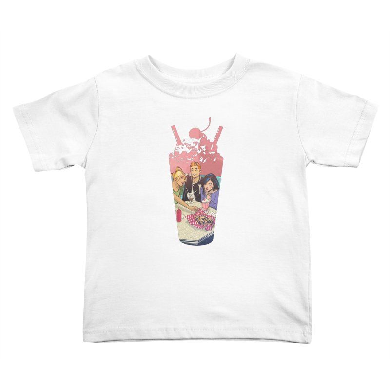 Milkshake Kids Toddler T-Shirt by archiecomics's Artist Shop