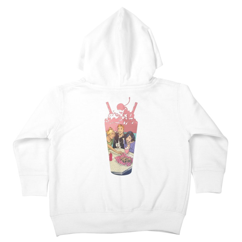Milkshake Kids Toddler Zip-Up Hoody by archiecomics's Artist Shop