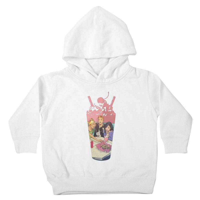 Milkshake Kids Toddler Pullover Hoody by archiecomics's Artist Shop