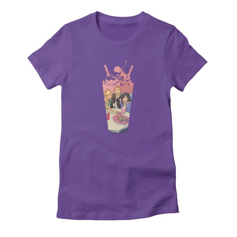 Milkshake Women's T-Shirt by archiecomics's Artist Shop