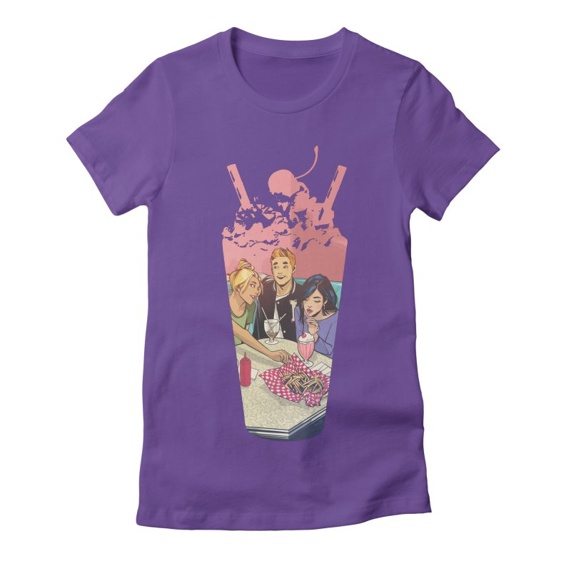 Milkshake Women's Fitted T-Shirt by Archie Comics