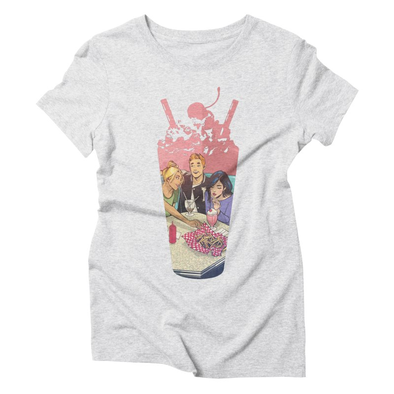 Milkshake Women's Triblend T-Shirt by Archie Comics