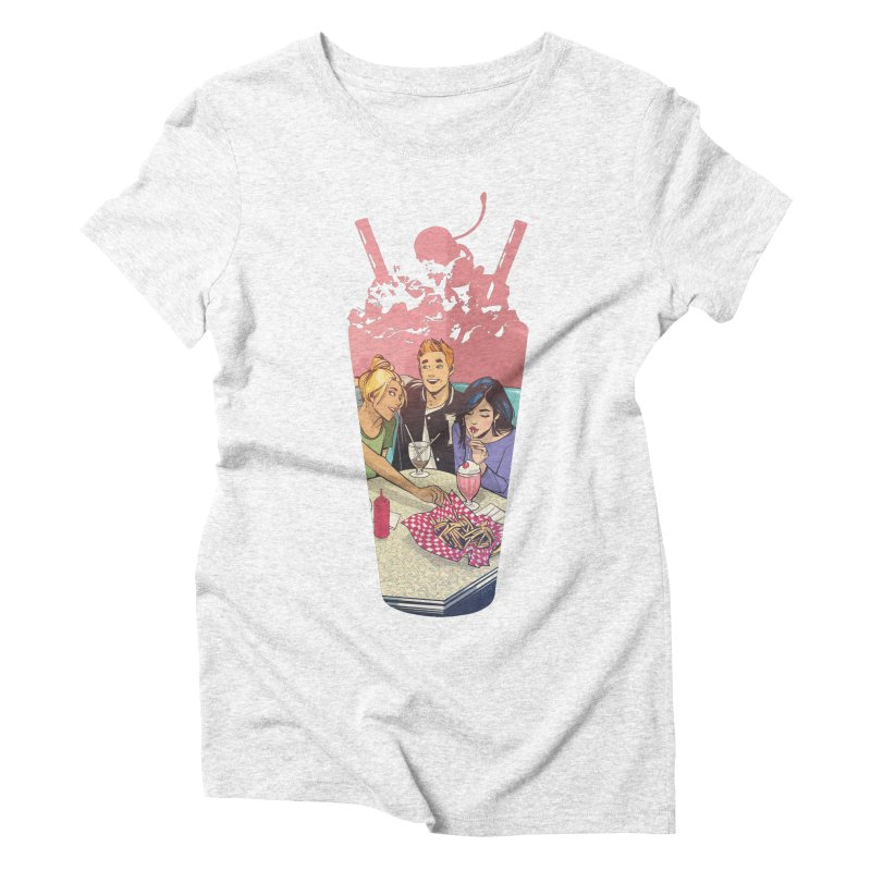 Milkshake Women's Triblend T-shirt by archiecomics's Artist Shop