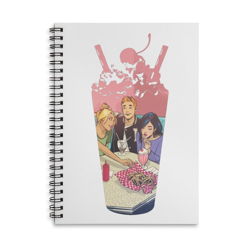 Milkshake Accessories Lined Spiral Notebook by Archie Comics