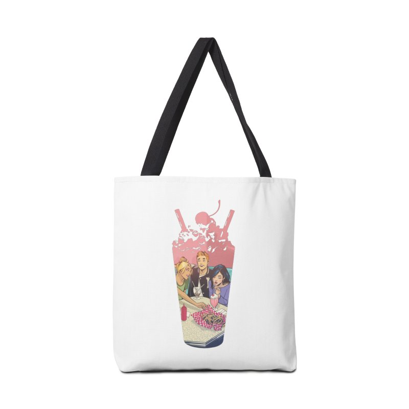 Milkshake Accessories Bag by archiecomics's Artist Shop