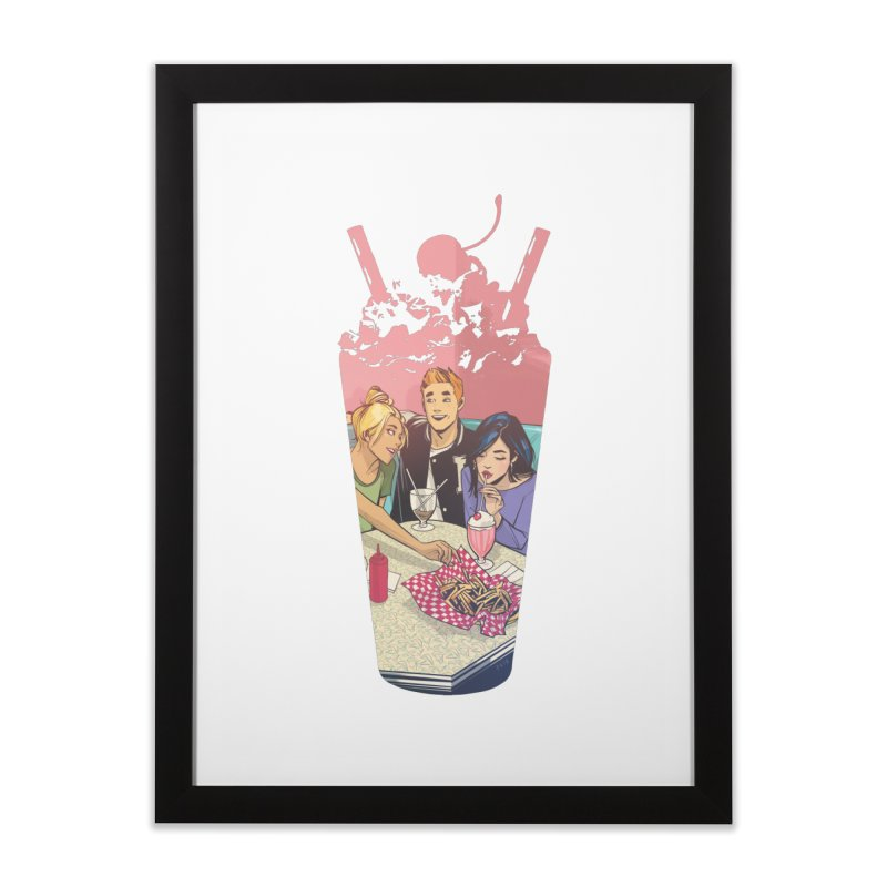 Milkshake Home Framed Fine Art Print by Archie Comics