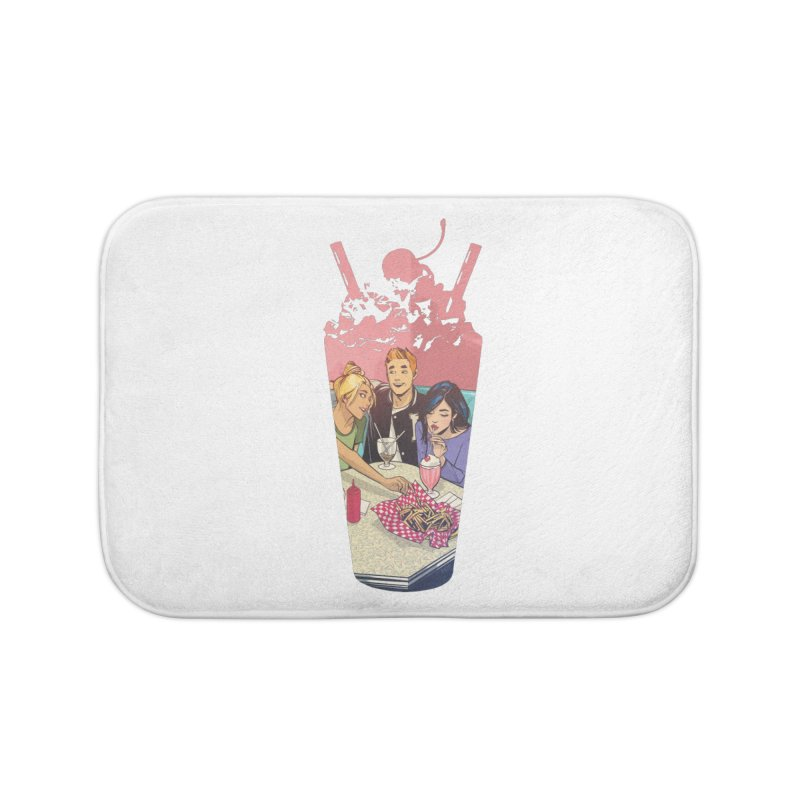Milkshake Home Bath Mat by archiecomics's Artist Shop