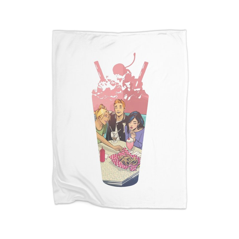 Milkshake Home Fleece Blanket Blanket by Archie Comics