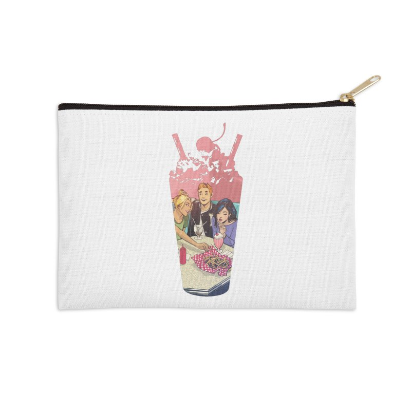 Milkshake Accessories Zip Pouch by archiecomics's Artist Shop