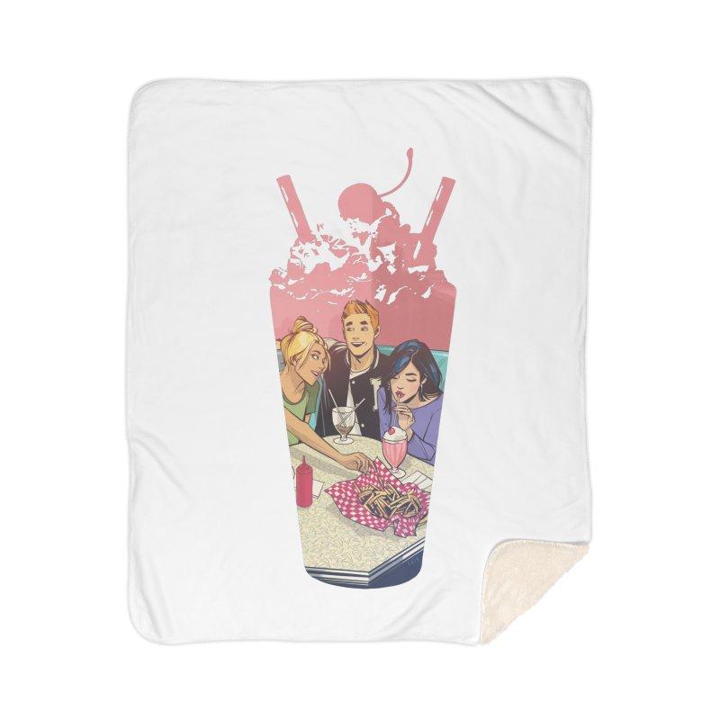 Milkshake Home Sherpa Blanket Blanket by Archie Comics