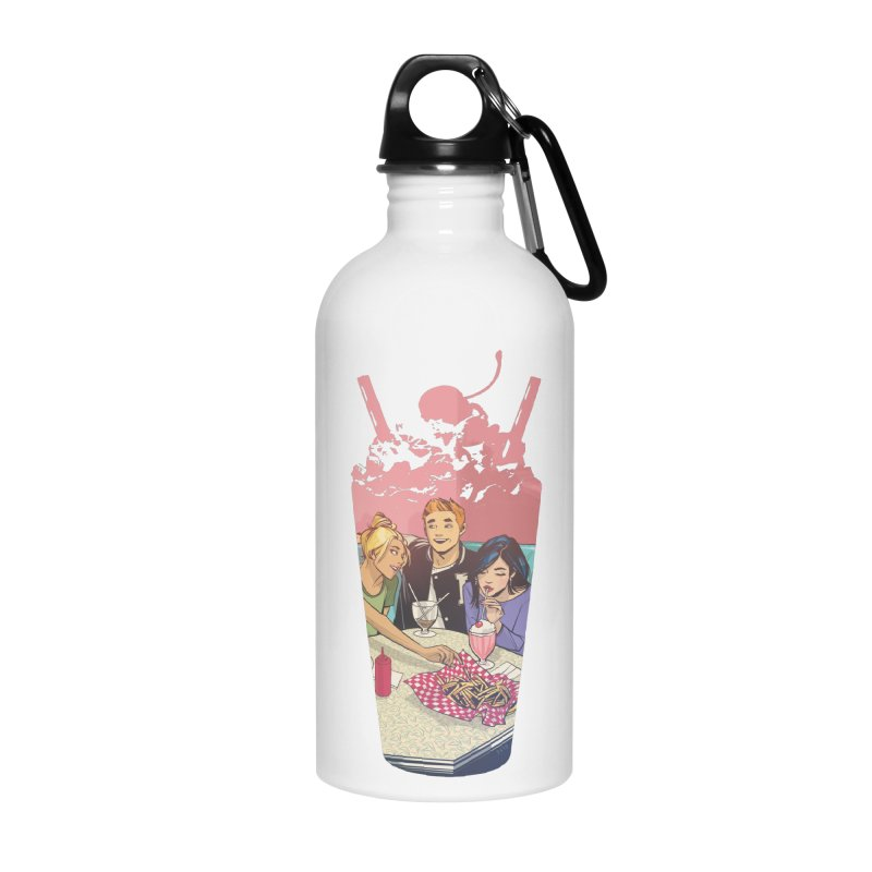 Milkshake Accessories Water Bottle by archiecomics's Artist Shop
