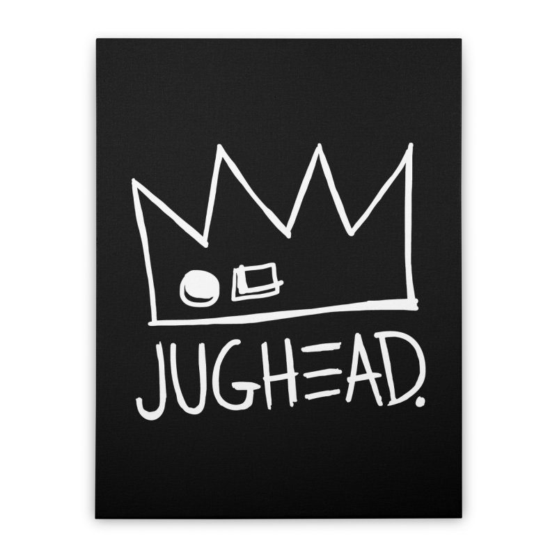 Jughead Home Stretched Canvas by archiecomics's Artist Shop