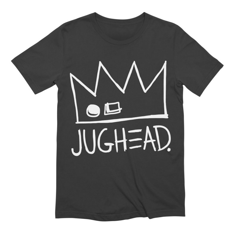 Jughead in Men's Extra Soft T-Shirt Smoke by Archie Comics