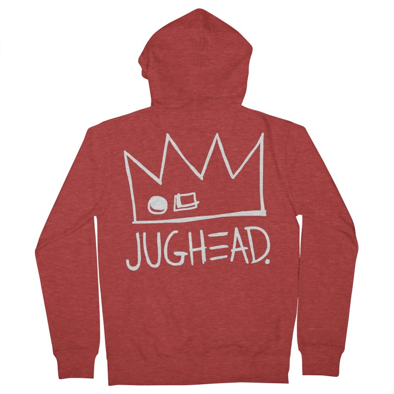 Jughead Men's French Terry Zip-Up Hoody by Archie Comics