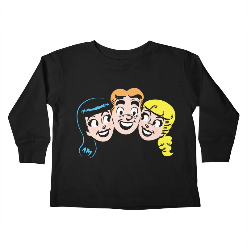 Archie's Girls Kids Toddler Longsleeve T-Shirt by archiecomics's Artist Shop