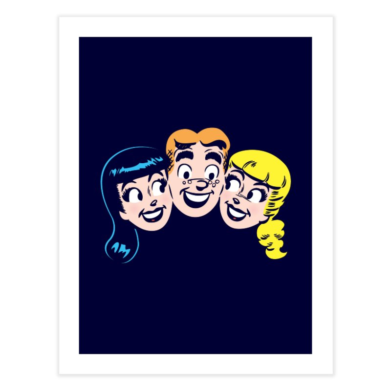 Archie's Girls Home Fine Art Print by Archie Comics