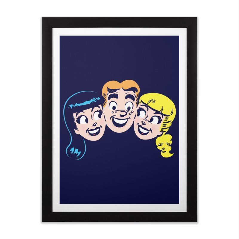 Archie's Girls Home Framed Fine Art Print by Archie Comics