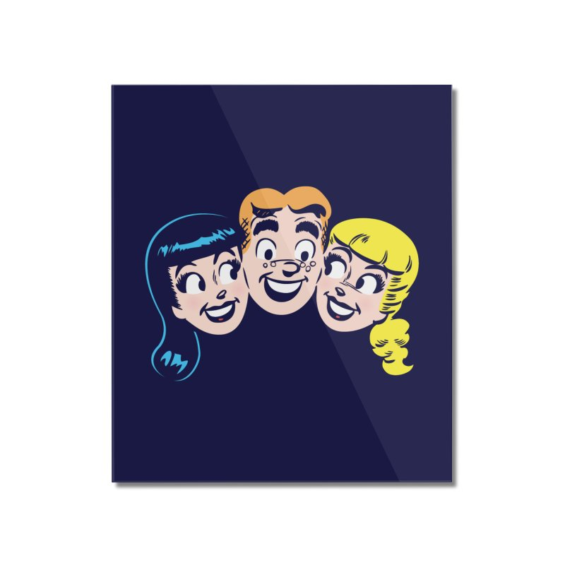 Archie's Girls Home Mounted Acrylic Print by Archie Comics