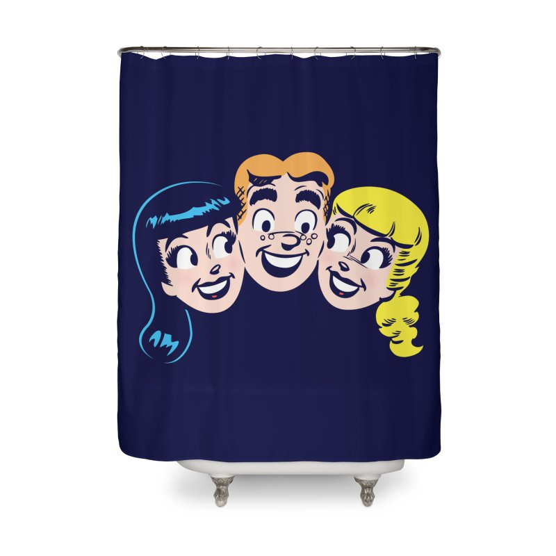Archie's Girls Home Shower Curtain by archiecomics's Artist Shop