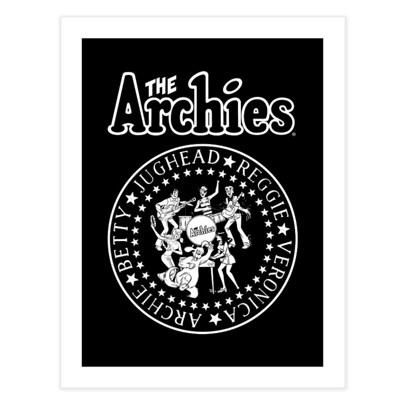 The Archies Home Fine Art Print by Archie Comics