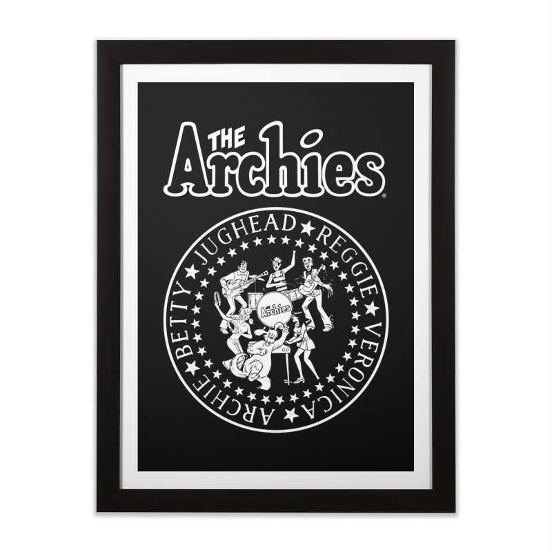 The Archies Home Framed Fine Art Print by Archie Comics