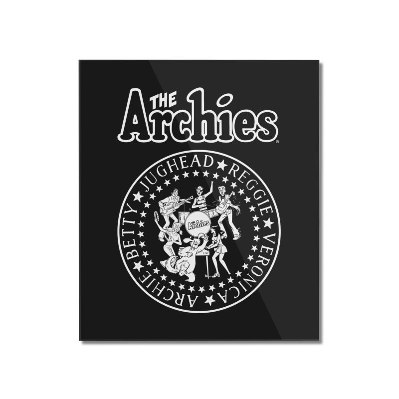 The Archies Home Mounted Acrylic Print by archiecomics's Artist Shop